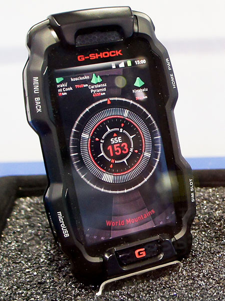Casio G-Shock Android Smartphone