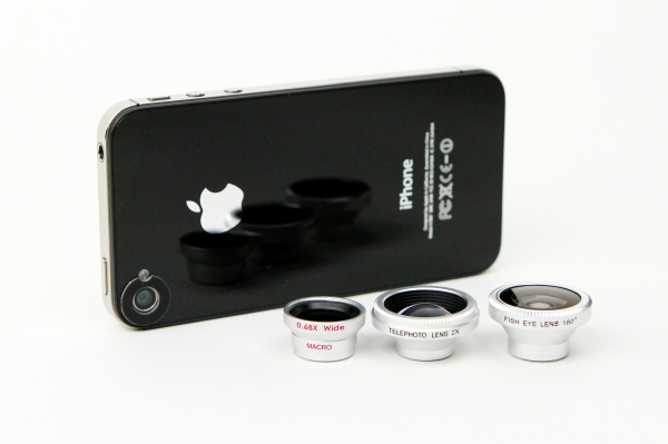 Wide Angle Macro , Fisheye, and Telephoto Lens for your iPhone