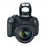 Canon EOS Rebel T4i lens flash