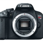Canon EOS Rebel T4i front body