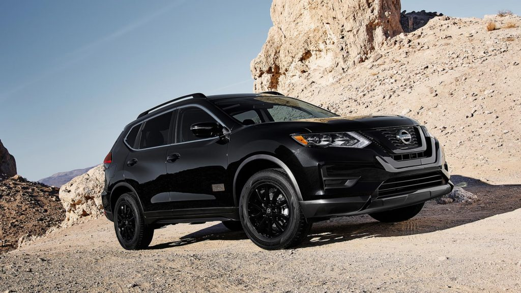 2017 NISSAN ROGUE: ROGUE ONE STAR WARS LIMITED EDITION EXTERIOR SHOWN IN MAGNETIC BLACK.