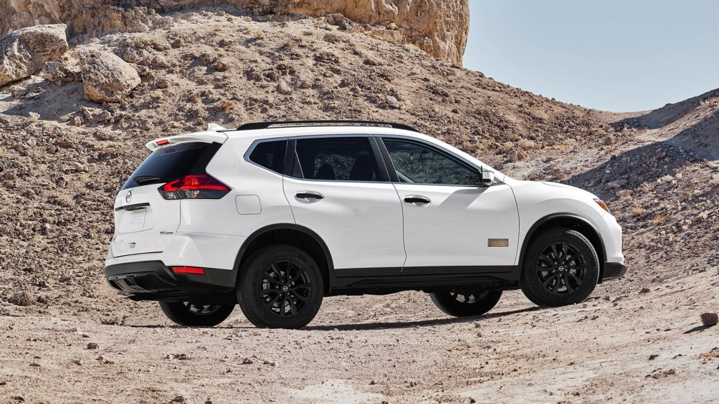 2017 NISSAN ROGUE: ROGUE ONE STAR WARS LIMITED EDITION EXTERIOR SHOWN IN GLACIER WHITE.