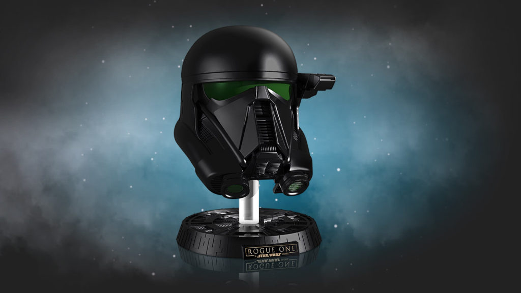 AVAILABLE WITH PURCHASE LIMITED EDITION DEATH TROOPER REPLICA HELMET
