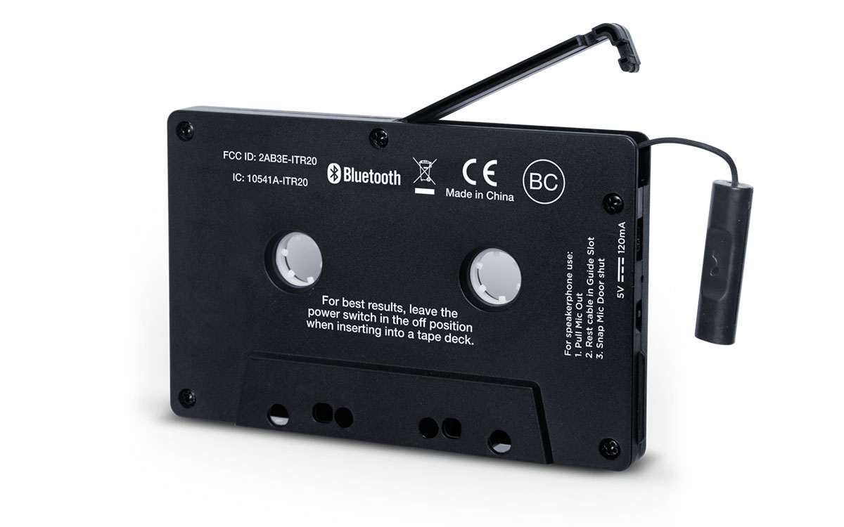 ION Bluetooth Cassette Tape Adapter
