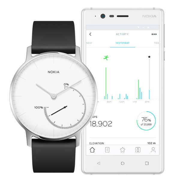Nokia Steel Smartwatch Activity & Sleep Tracker
